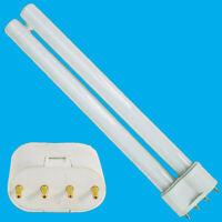 55W 2G11 Osram 4 Pin 4000K Double Tube CFL Cool White Light Bulb Lamp 533mm