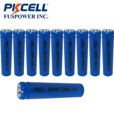 10x AAA Li-ion Wiederaufladbare Batterien ICR 10440 3.7V 350mAh Akkus PKCELL