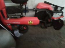 go cart with hoover board lights up n has blue tooth