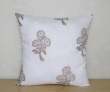 "Floral Print Set-2 Indian 100%Cotton Decorative Sofa Square Cushion Cover 16X16"""