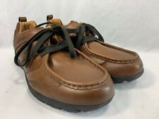 Mephisto AllRounder Shoes Moccasins Mens 10.5 Brown Leather Moc Toe