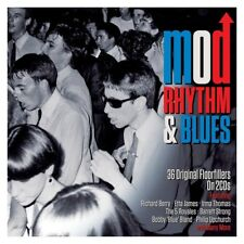 MOD RHYTHM & BLUES (BABY JEAN, B.B.KING, MUDDY WATERS, ...)  2 CD NEUF