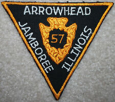 1957 BSA National Jamboree, Arrowhead Council Contingent Patch, Perfect!
