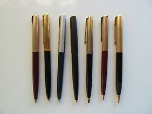 ANTIQUE PARKER BALLPOINT AND OTHER PARKER MECHANICAL PENCIL LOT FOR REPAIR