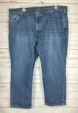 Levi's 569 Loose Fit Straight Leg Men's Dark/Medium Wash Jeans 46X27