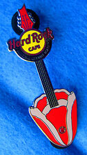UNIVERSAL OSAKA RED TULIP SPRING FLOWER GUITAR SERIES Hard Rock Cafe PINS LE100