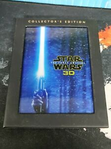 Star Wars The Force Awakens 3D Collector's Edition Bluray RARE/OOP