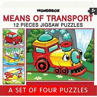 25 X 20 cm, Transport Jigsaw Puzzle for Kids Of Age 3 - 5 Yrs, Brain Game Toys