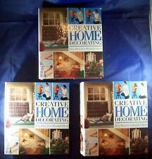 Creative Home Decorating 3 Ring Binder Set Complete 420 Cards