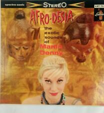 AFRO-DESIA THE EXOTIC SOUNDS OF MARTIN DENNY LIBERTY LRP 3111 VG Vinyl LP!