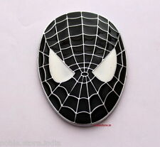 Spiderman Black Face Metal Sticker 3D Hyundai I10 Grand Xcent i20 Verna Accent