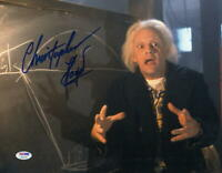 CHRISTOPHER LLOYD SIGNED 11X14 PHOTO BACK TO THE FUTURE DOC BROWN AUTO PSA/DNA