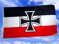 Fahne Flaggen DEUTSCHES REICH GÖSCH DER KRIEGSSCHIFFE
