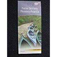 2013 AAA New Jersey Pennsylvania Map