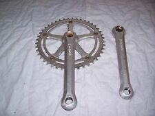 OFMEGA CX STRADA FIXED CHAINSET, CAMPAGNOLO CHAINRING, VERY GOOD