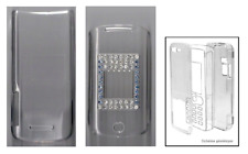 Transparent Crystal Cover (Hard Cover Protection) ~ Motorola K1 (Diam's Blue)