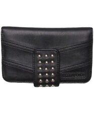 NWOT. RRP $39.99 Men/'s Billabong Wharf Brown Slim Leather Flip Wallet
