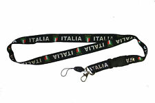 ITALIA Lanyard / Passport Holder / your choice Blue or Black  Brand New Nice !!