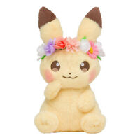 Pokemon Center Pikachu & Eievui's Easter Pikachu Plush Doll Stuffed Toy Limited