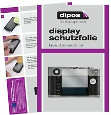 5x Schutzfolie für Leica M-E (Typ) 240 Display Folie klar Displayschutzfolie