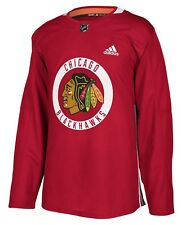 Chicago Blackhawks Adidas NHL Men's Climalite Authentic Practice Jersey