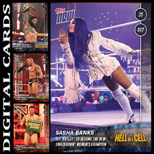 Topps SLAM WWE TOPPS NOW Hell in Cell [SET 4 CARDS SUPER RARE]