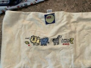 "Gymboree Vintage ""Jungle Friends"" Zoo Animals Blanket NWTs"