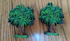 2 Palm Tree Shelf Sitters By Shelia's Houses