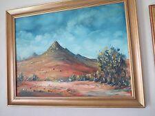 Australian Oil Painting by ALL 5 of The Brushmen ofthe Bush Pro Hart,Absalom,etc