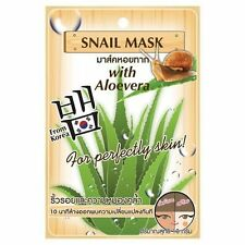 Fuji Cream : Snail Mask with Aloe vera for Perfectly Skin 10 g. (Pack of 6 bags)