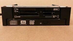 Dell 19-IN-1 Media/Flash Card Reader G7V21 + Cable + Slim DVD+/-RW + NR95F Cage