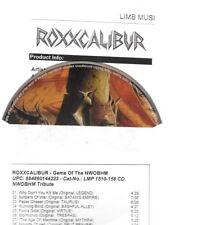 Roxxcalibur - Gems Of The Nwobhm - ultra rare metal promo