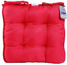 Chair/Seat cushions pads with ties garden kitchen dinning office home outdoor