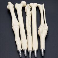 New 1X Funny Novelty Ball point Pen Bone Shape Nurse Doctor Student Creative Hot