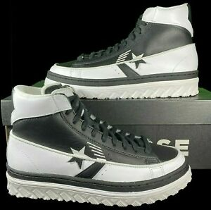 Converse Rivals Pro Leather X2 Hi Top Sneaker 168694C BLACK Dr. J. RARE!