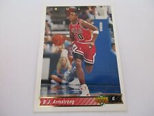 Carte NBA UPPER DECK 1992-93 FR #115 BJ Armstrong Chicago Bulls