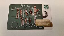 Starbucks Gift Cards NEW NO VALUE - GREEN THANK YOU - HOLIDAY 2015 (One of 48)