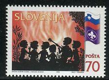 SLOVENIA 1995 SLOVENIAN BOY SCOUTS/ORGANIZATION/FLAG/FIRE/MUSIC/GUITAR/NATURE