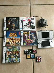 Nintendo DS lite + 10 JEUX