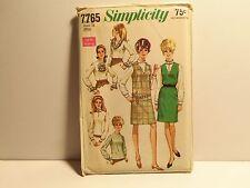 Vintage Simplicity Pattern 7765 Size 12