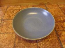 Keramikschale mit Standfuss blau für Gebäck Obst Konfekt Schwimmkerzen oder Deko