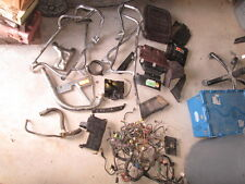 1986 Yamaha Venture Royale XVZ1300 Wire Harness Backrest Pad Etc Parts Lot #2