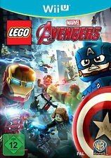 LEGO Marvel Avengers (Nintendo Wii U, 2017, DVD-Box) NEU OVP