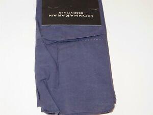 Donna Karan Essentials King Pillowcases Sapphire 410TC Cotton percale Pair New