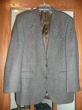 Mens Size 40-42 Regular Houndstooth Sports Coat/Jacket/Blazer