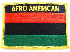 Afro American Patch / Afro American Flag