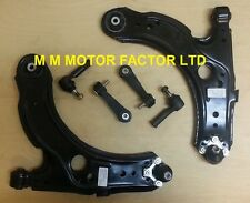SEAT LEON 1.6 1.8 1.9 FRONT WISHBONE SUSPENSION ARMS + TRACK ROD ENDS + LINKS