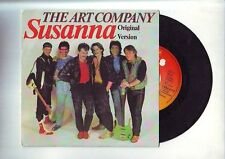 disque 45 tours  :  the art company -- susanna -- the 17th floor