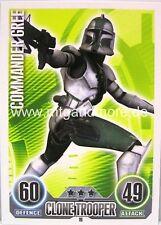 Star Wars Force Attax  Commander Gree #019