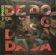 """THE POLICE - De Do Do Do, De Da Da Da - 1980 UK A&M 2-track 7"""" vinyl single -p/s"""
